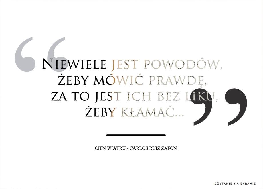 Cytat: Cień wiatru Carlos Ruiz Zafon