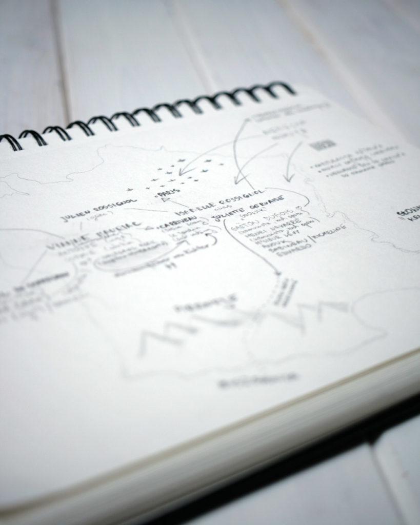 Mapa książki Słowik Kristin Hannah